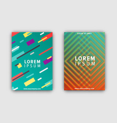 Modern design covers set on vector