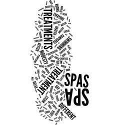 Modesty in spas text background word cloud concept vector