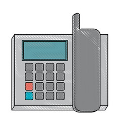 office supplies icon image vector image