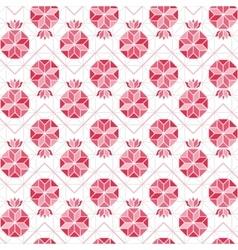 Pomegranate seamless pattern vector