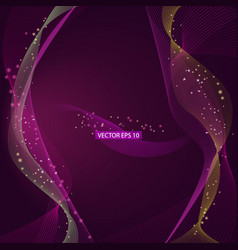 purple and pink abstract background vector image