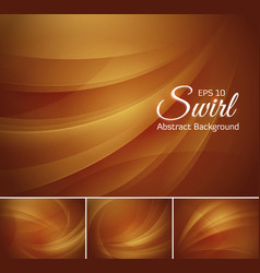 Swirl abstract background vector