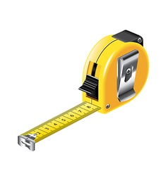 tape measure isolated vector image