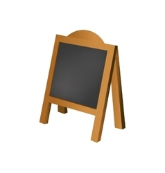 Restaurant blackboard advertising vector image