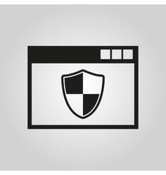 Antivirus icon antivirus design firewall vector