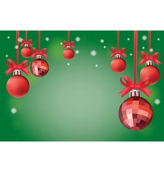 Background Christmas card vector