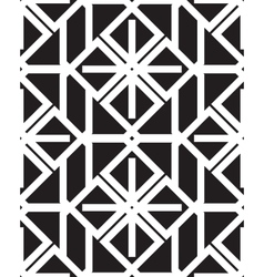 Geometry seamless pattern vector