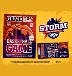 modern professional sports design poster and vector image