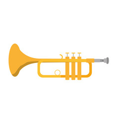 Music trumpet instrument artistic melody vector