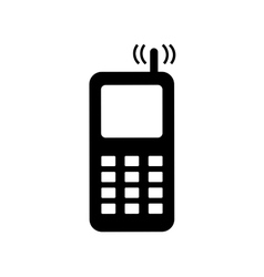 Phone sign 2206 vector image