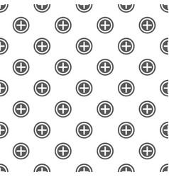 plus pattern seamless vector image