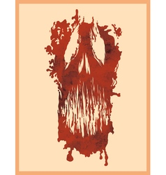 Print of death vector
