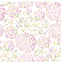 rosy pastel colors peony flowers seamless pattern vector image
