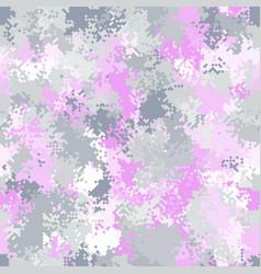 seamless digital arctic pixel camo texture vector image
