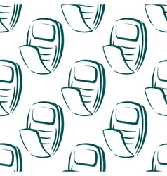 seamless pattern a retro mobile phone vector image