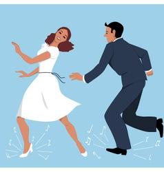 Tap Dancers vector image
