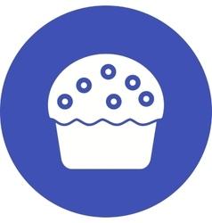 Cream Muffin vector image