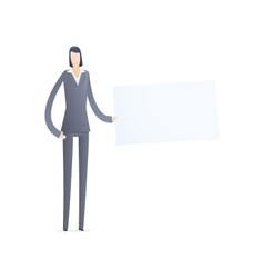 business people in different situations vector image vector image