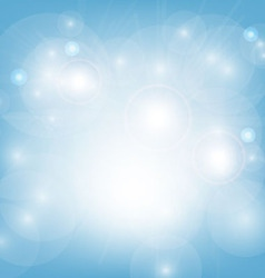 light blue abstract background vector image vector image