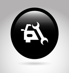 car button design vector image vector image