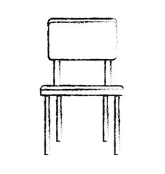 chair furniture decoration seat image sketch vector image