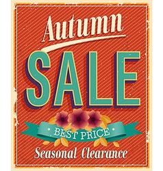 Authum sale vector image