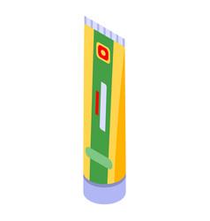 Mustard tube icon isometric style vector