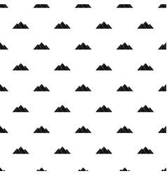 pyramids pattern vector image