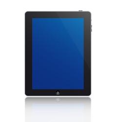 touchscreen tablet vector image
