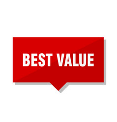 Best value red tag vector