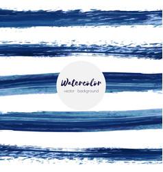 Dark blue black grunge watercolor ink texture vector