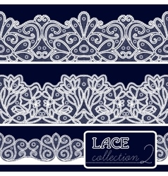 Decorative Lace Set vector
