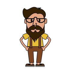 man cartoon icon image vector image