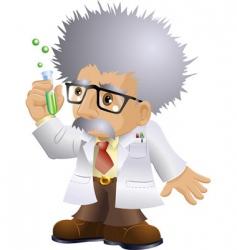 nutty professor vector image
