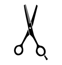 scissors icon simple style vector image