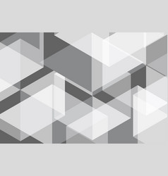 white grey geometric abstract background vector image