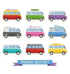 bus-set vector image
