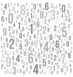 Abstract Background with Numbers vector image