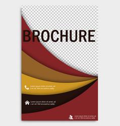 Abstract flyer design background brochure vector