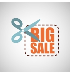 big sale offer discount commerce vector image