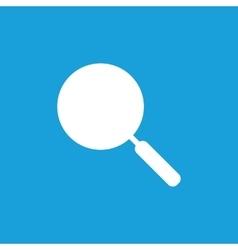 Pan icon white vector