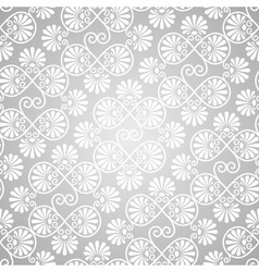 Seamless pattern on gradient background vector