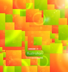 Square Tiled Abstract Background vector