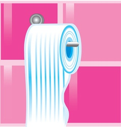 Toilet paper roll vector