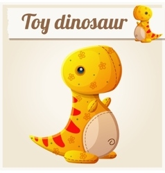 Toy dinosaur 6 Cartoon vector image