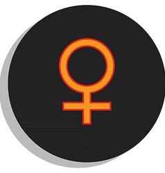 Venus symbol vector