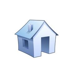 homepage symbol vector image vector image