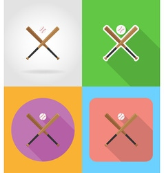 sport flat icons 07 vector image vector image