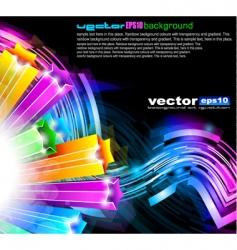 futuristic designs vector image vector image