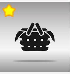 Black picnic icon button logo symbol concept high vector